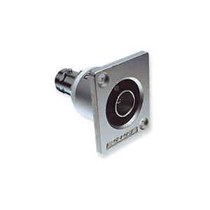 Canare FJ-JRU F connector - recessed bulkhead port, 75 Ohm