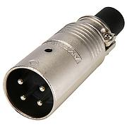Whirlwind AP4-12 Multipin AP Connector, 4 pin male inline