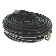 Whirlwind BNCRG8-025 Antenna Cable: Belden 8237 Cable RG8, 50 Ohm, 25'