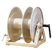 Whirlwind WD3 large capacity split reel with divider and crank