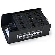 Whirlwind DT12 stagebox 12 dual gender XLRs box with DT12 feedthru